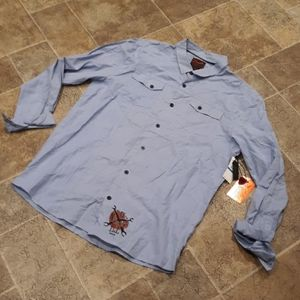 NWT O'Neill men's size XL button down shirt